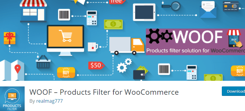 Best Free WooCommerce Plugins - Products Filter