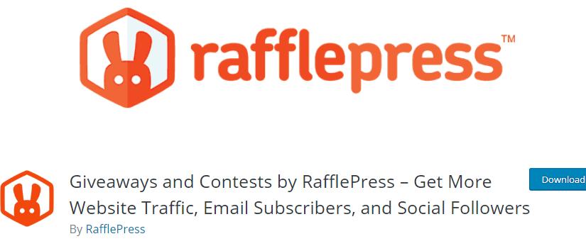 Essential WooCommerce Plugins - rafflepress