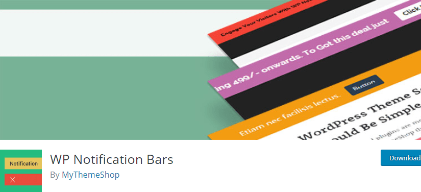 must-have plugin - WP Notification Bars