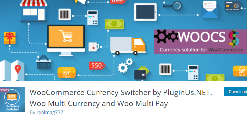 WooCommerce Plugin - Currency Switcher