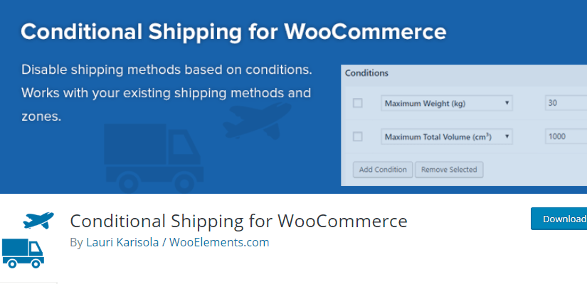 Conditional Shipping