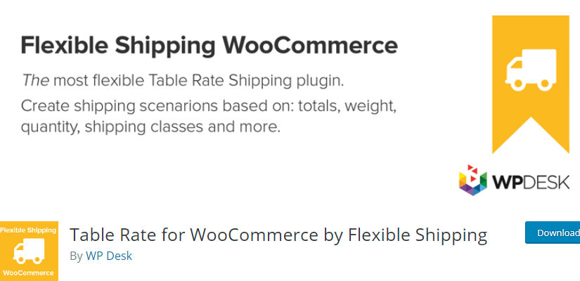 Flexible Shipping WooCommerce