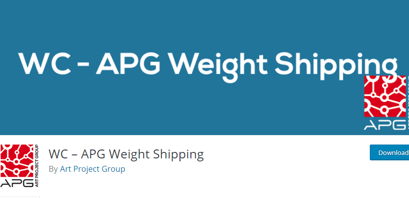 WC - APG Weight Shipping