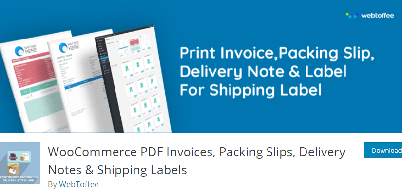 PDF Invoices and Packing Slips