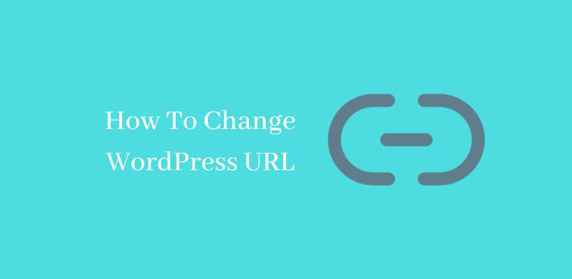 How to change WordPress URL - CodeFlist