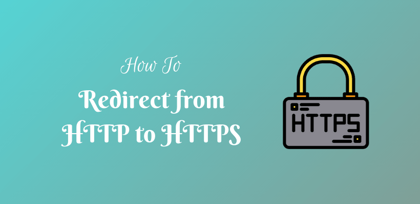 How to redirect from http to https - CodeFlist