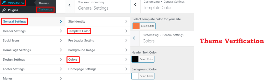 Change font color in theme